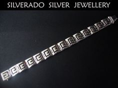 Ancient Greek Eternity Key Wide Men Solid by SilveradoJewellery, €290.00