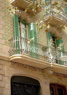 Barcelona's Poblenou area.