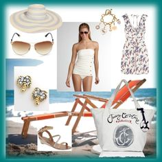 Juicy Couture Beach, created by tracy-boyer-perkins.polyvore.com