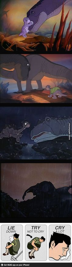 The Land Before Time 9/10!