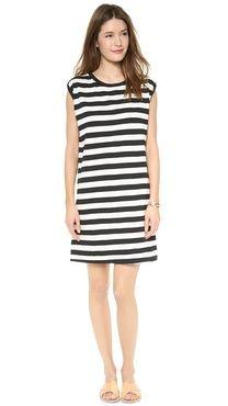 Edith A. Miller Boyrfriend Sleeveless Mini Dress