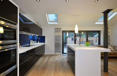 retaining post in kitchen extension - Google Search