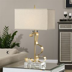 Uttermost Camarena Bright Gold Lamp (27042-1)
