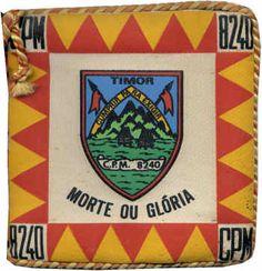 Companhia de Polícia Militar 8240/74 Cabo Verde - inicialmente destacada para Timor foi desviada para Cabo Verde