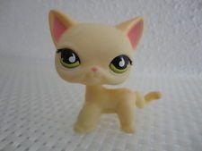 Littlest Pet Shop SHORT HAIR STRIPED SIAMESE KITTY CAT 733 RARE LPS