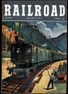Resultado de imagem para railroad magazine