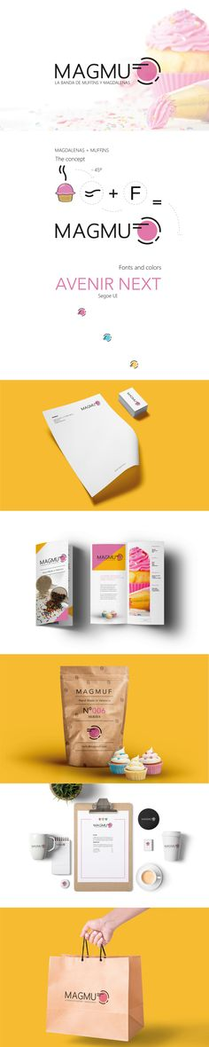 MAGMUF - Branding Design  #design #mark #brand #logotipe #graphicdesign