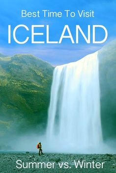 Best time to travel to iceland - summer versus winter: islande, escapades c Iceland Travel Tips, Europe Travel Tips, European Travel, Travel Guides, Travel Destinations, Travelling Europe, Traveling Tips, Travel Pics, Travel Packing