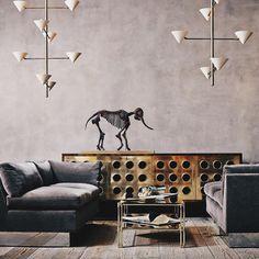 "84 Likes, 5 Comments - COUP D'ETAT (@coupdetatsf) on Instagram: ""We love a good metal mix.  #interiordesign #furniture #vintage #lighting #design #coup #coupdetatsf…"""