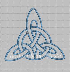 Keltisches Dreieck von facileetbeaugusta auf Etsy
