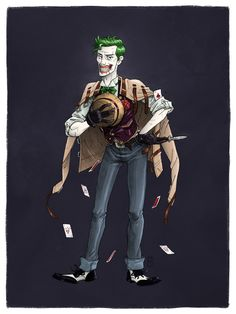 The Joker by mscorley.deviantart.com on @deviantART