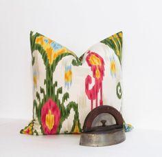IKAT Decorative Pillow Robert Allen Accent by supplierofdreams, $45.00