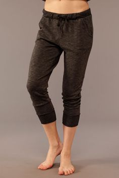SOLOW - French Terry Slouchy Pant