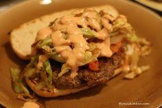 dominican chimichurri (dominican burger)