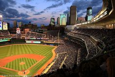 The NEW Minnesota Twins Stadium > Target Field (People are still arguing about having a dome over it considering we could still have snow on the ground opening day!)