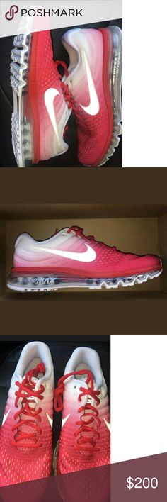 Rare Nike Air Max 2017 sample shoes Brand new shoes. These are men's size 10 and are 100% authentic. Comes from Nike in sample box with sample stickers. This colorway in men's as of this positng has not been released. Only a few of these available. Nike Shoes Athletic Shoes