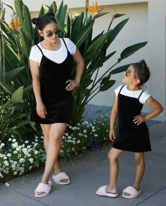 25 Best Matching Mommy Daughter Outfits images  f7ea4f198288