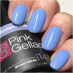 Wonderful Blue by Pink Gellac | Model City Polish