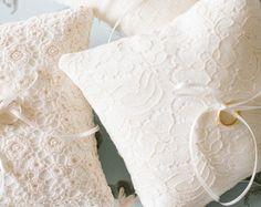 Wedding Ring Pillow Ring Bearer Pillow Wedding от LePetitMariage