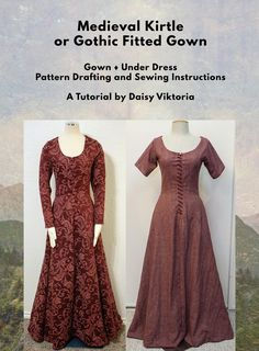 Fantastic 15 sewing hacks tips are offered on our internet site. Take a look and you wont be sorry you did. Medieval Dress Pattern, Medieval Gown, Medieval Costume, Simple Medieval Dress, Renaissance Garb, Medieval Fashion, Medieval Clothing, Historical Clothing, Gypsy Clothing