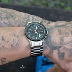 Awesome shot from Bruno Jelovic with his AS DE PIQUE Master watch!