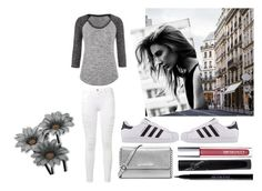 """""""Walk In The City"""" by styles75 ❤ liked on Polyvore featuring maurices, Frame Denim, adidas Originals, MICHAEL Michael Kors, Urban Decay and Manic Panic"""