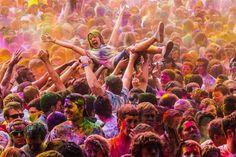 Holi – O Festival das Cores.