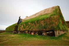 Casa comunal vikinga en Islandia
