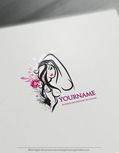 Create a Beauty Logo For Free with the Sexy Woman Logo Template