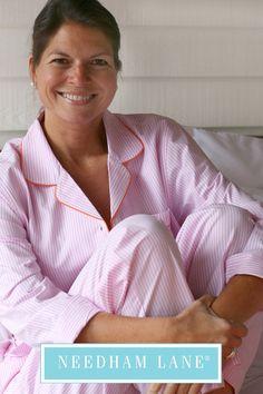 8983e8dc98 Comfy cotton pajamas from Needham Lane. Our Penny pajama