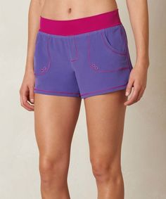 Look at this Ultra Violet Colorblock Millie Boardshorts on #zulily today!