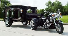 This is how I want to taken to my final resting place..... or a really cool tractor. :-)