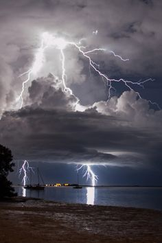 When Lightning Strikes by Kevin Garcia                                                                                                                                                                                 More