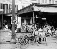 New Orleans French Market~~ 1910