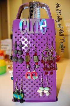 Jewelry hanger very creative