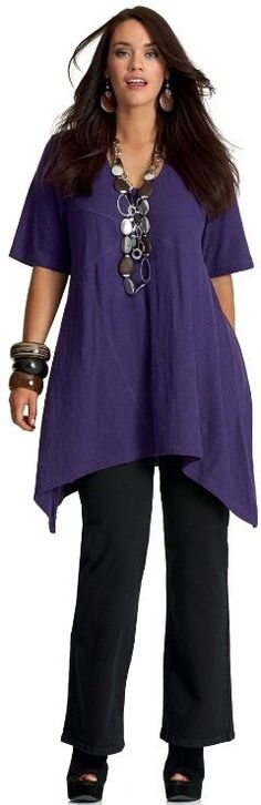 Fashion & Clothing Archives - Plus Size Fashion for Women I wouldn't exactly term this model as a plus size.