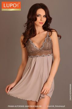 Nightgown model 50419 Lupo Line