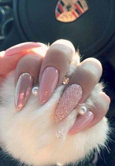 Swarovski crystals Stiletto nails Baby pink nails Long nails Chrome nails Mermaid nails Personally like coffin or square Cute Acrylic Nails, Acrylic Nail Designs, Gel Nails, Coffin Nails, Toenails, Holographic Nails Acrylic, Chrome Nails Designs, Pink Coffin, Nail Polish