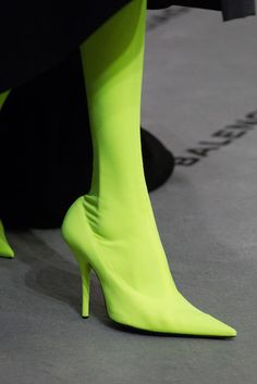 ae18a629e558 Hazmat Heels - Balenciaga thigh-high boots Fashion Boots