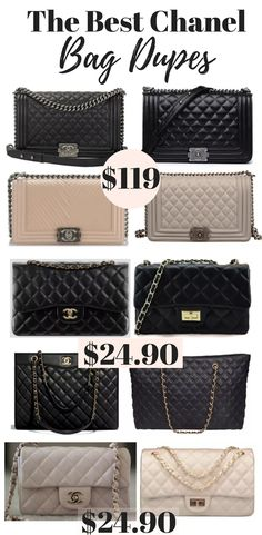 The Ultimate Guide To Chanel Dupes (Chanel Boy Bag Dupe   Beyond!) 7c35562db2