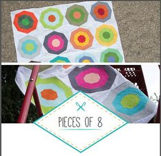 Pieces of 8 Quilt Pattern by stitchindye on Etsy.