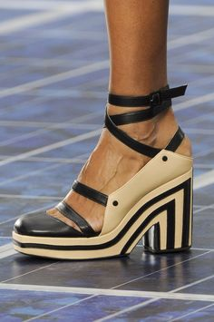 Chanel Spring 2013 - these look vaguely futuristic to me...