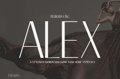 Alex Font Family 9 Multi Weight Magazine Fonts