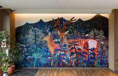ミロコマチコ 北こぶしグループコラボアーティスト   ART   世界自然遺産知床 北こぶしグループ