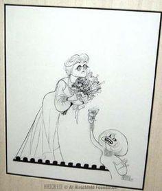 Carol Channing salutes Angela Lansbury 1992 Artist, Al Hirschfeld