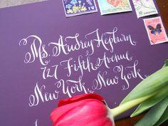 Wedding Calligraphy envelope addressing   Keywords: #weddingcalligraphy #jevelweddingplanning Follow Us: www.jevelweddingplanning.com  www.facebook.com/jevelweddingplanning/