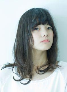 ナチュラルミディ 【muguet】 http://beautynavi.woman.excite.co.jp/salon/23484?pint ≪ #mediumhair #mediumstyle #mediumhairstyle #hairstyle・ミディアム・ヘアスタイル・髪形・髪型≫