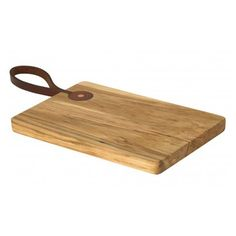 Leather Handle Cutting Board - Maple - Half Hitch Goods