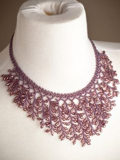 Uvas Necklace - purple