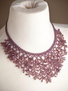 Uvas Necklace - purple